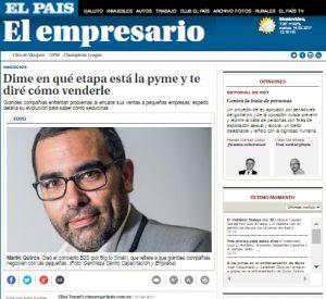 Entrevista Martin Quiros Diario El Pais UR